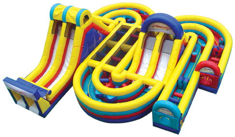 Radical Run Inflatable Obstacle Course